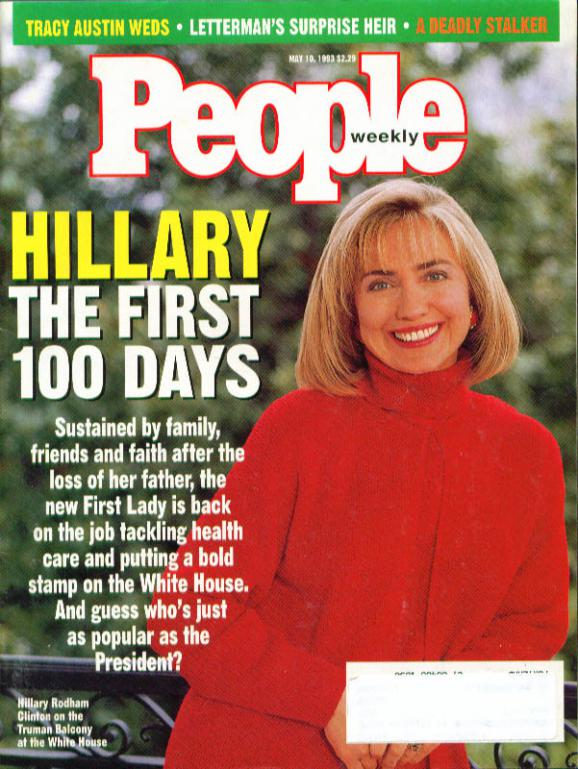 Hillary Clinton on the Cover of People.